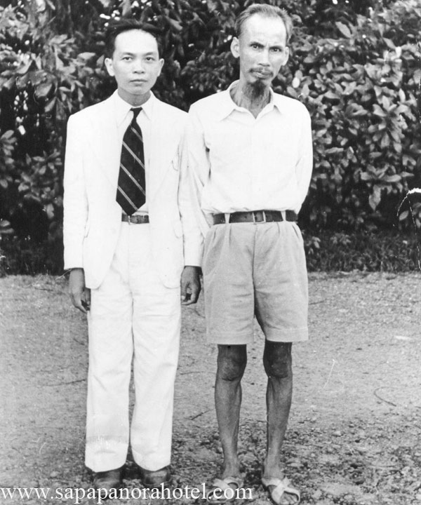 General Vo Nguyen Giap with Uncle Ho